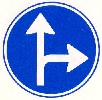 maak gebruikt verkeersbord