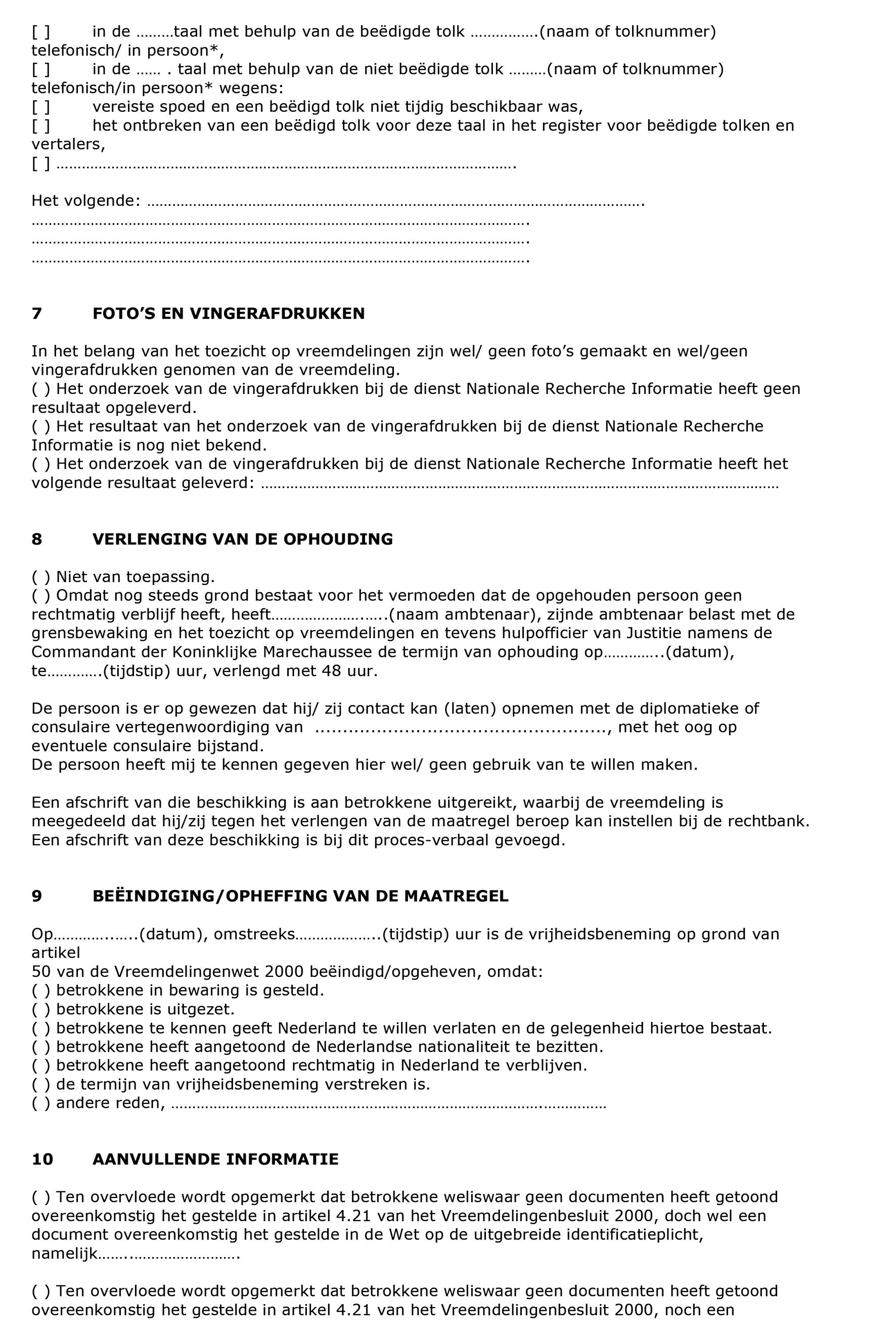 wetten nl - Regeling - Vreemdelingencirculaire 2000 (A) - BWBR0012287