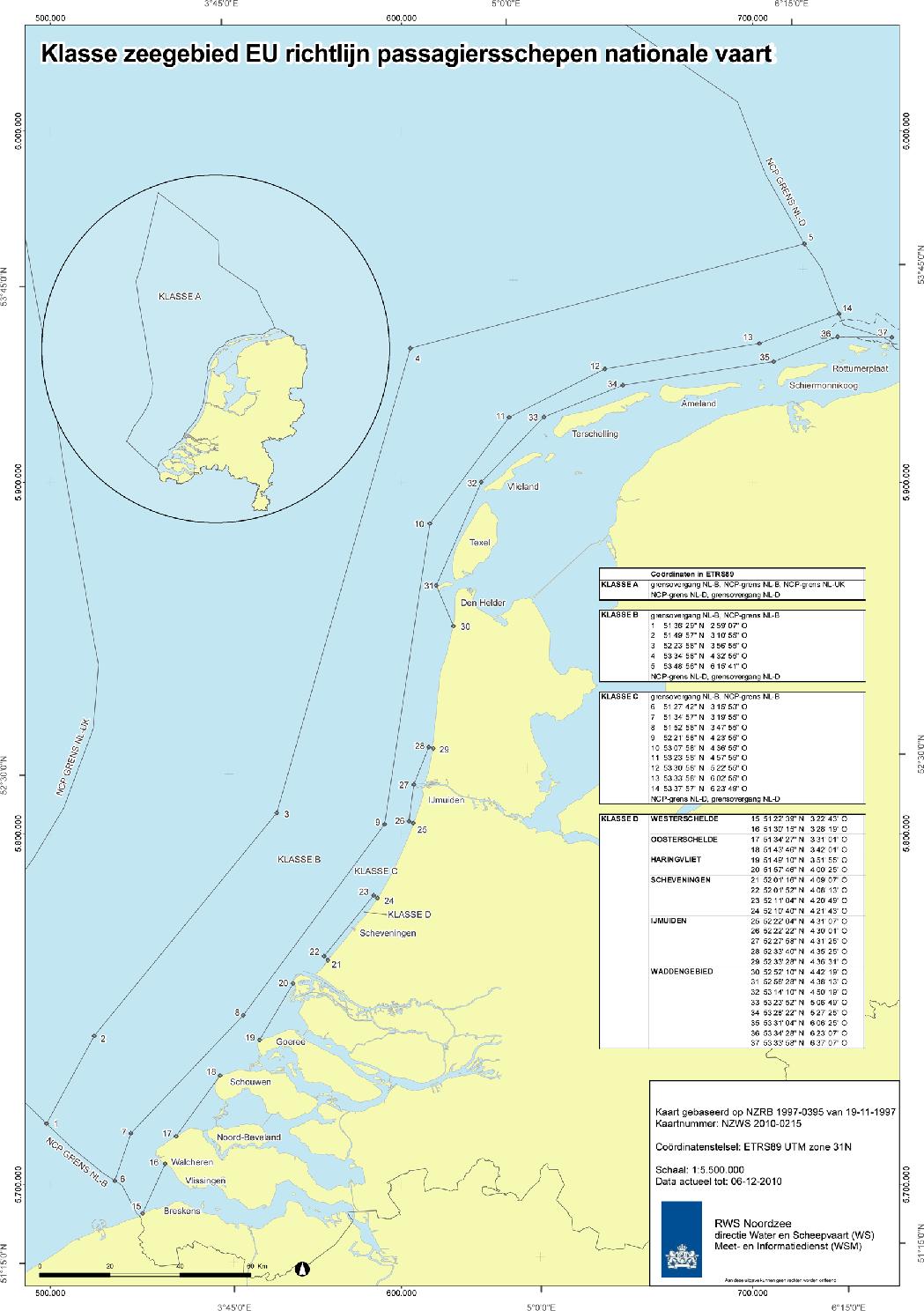 Regeling veiligheid zeeschepen - Netherlands Regulatory Framework ...