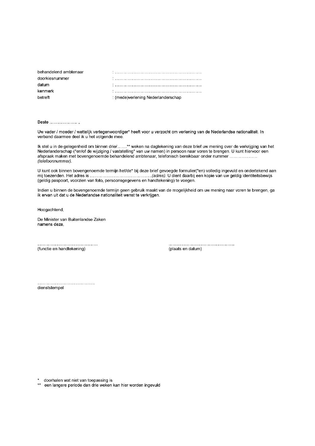 post aangetekende brief volgen