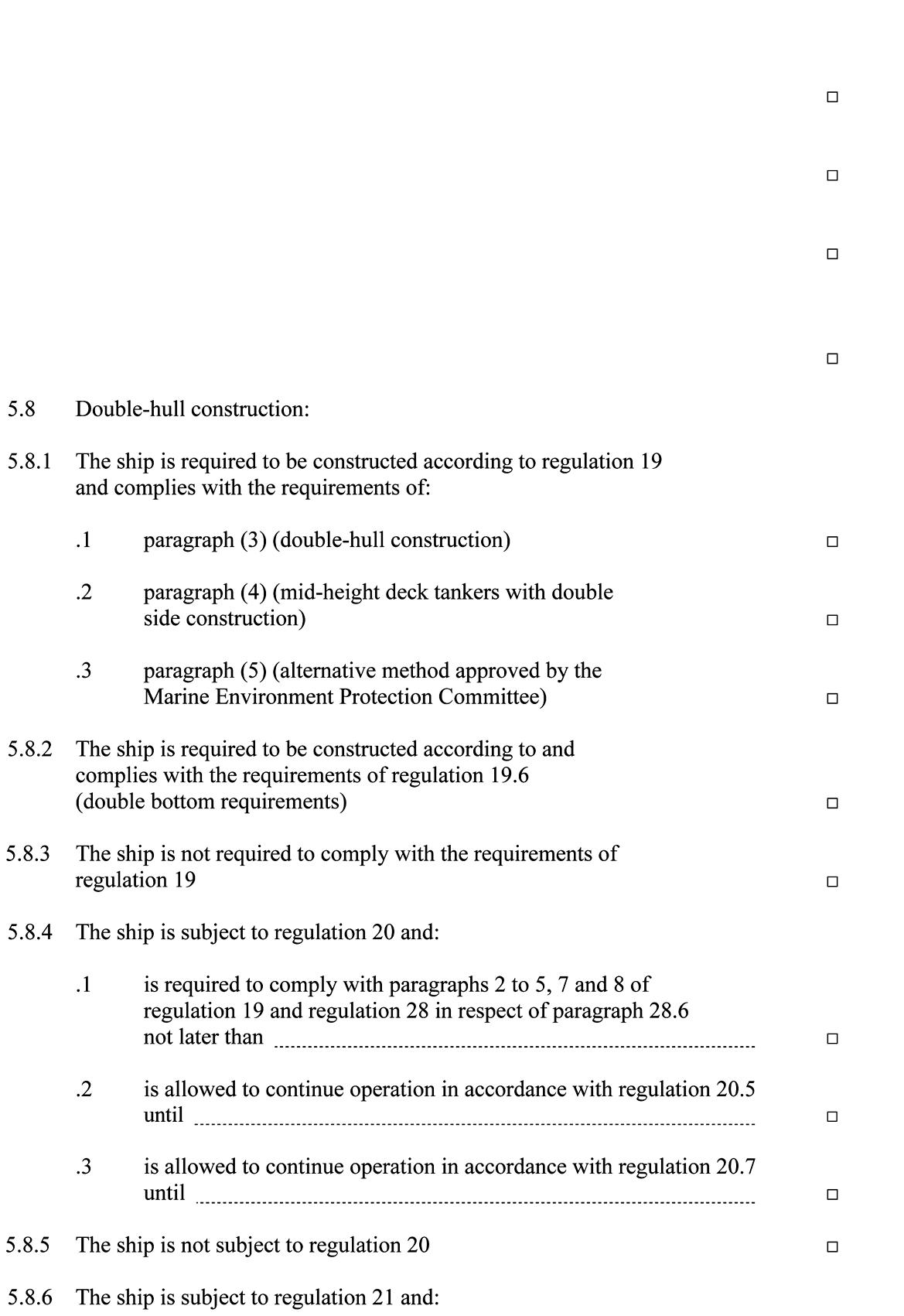 Internationaal Verdrag Ter Voorkoming Van Verontreiniging Door Schepen 1973 Zoals Gewijzigd Het Protocol 1978 Daarbij