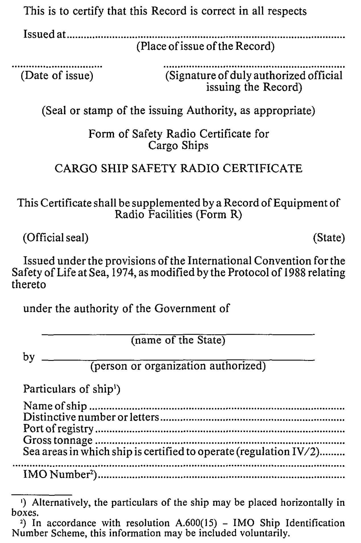 Internationaal Verdrag Voor De Beveiliging Van Mensenlevens Op Zee