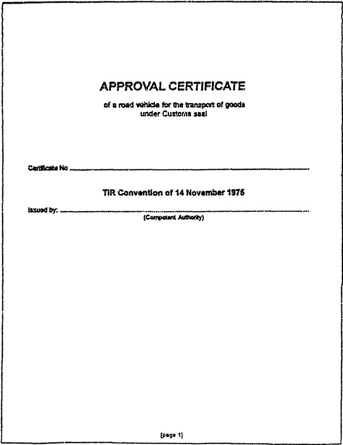 Wetten Regeling Douaneovereenkomst Inzake Het Internationale